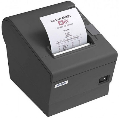 Adding machine with receipt printer